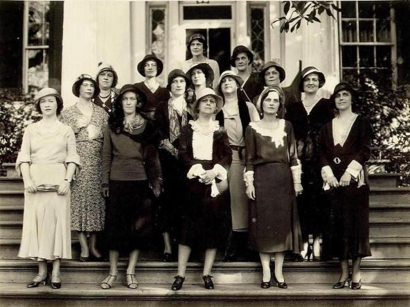 Natchez Garden Club's founding members