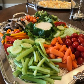 Vegetable Tray with Ranch