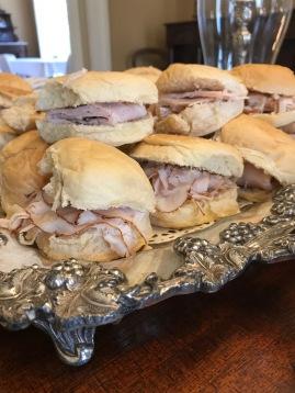 Sandwich on Fresh Rolls
